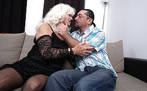 Crazy mature breezy romping and gargling